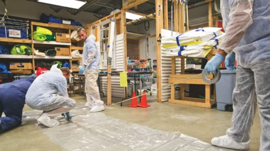 lead safety training procedures