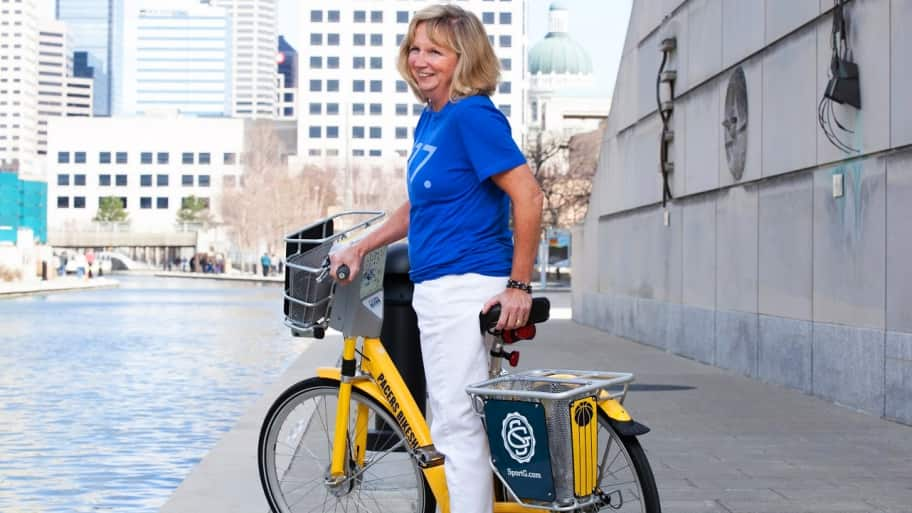 renting a bike in Indianapolis