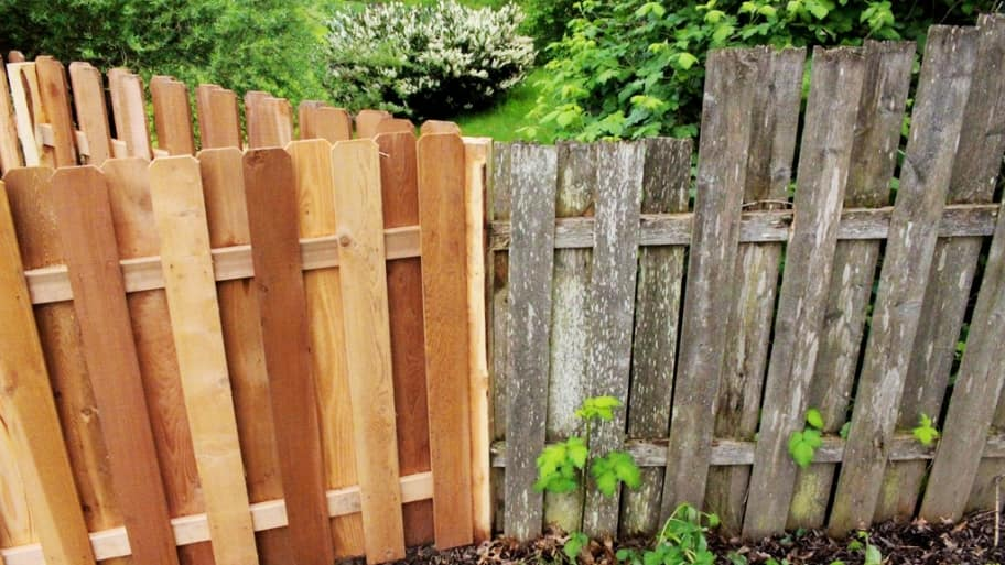 How To Restore A Faded Wood Fence Angie S List