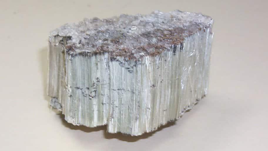 Asbestos piece