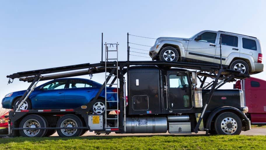 covered car transport, event car transport