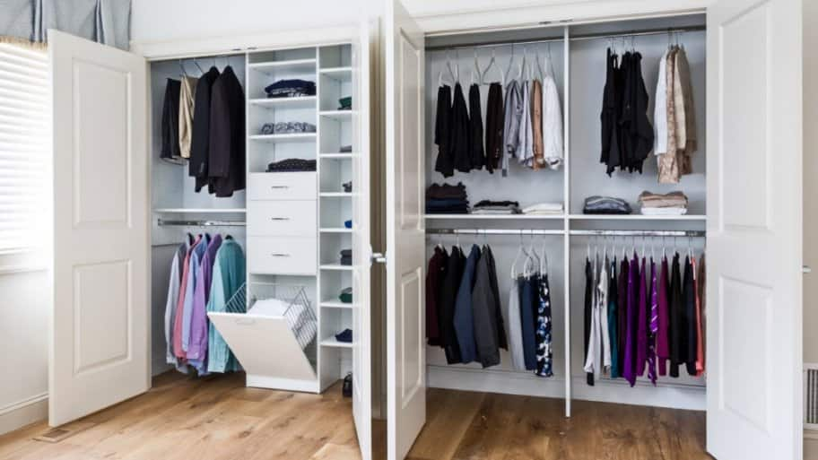 Reach In Closet Design By Symmetry Closets
