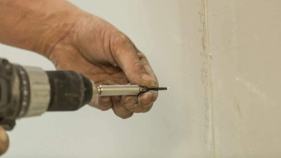 Drywall instillation