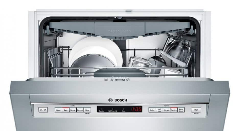dishwasher review bosch 500 series 24 inch built in. Black Bedroom Furniture Sets. Home Design Ideas