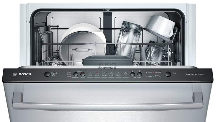 Bosch Ascenta stainless steel dishwasher