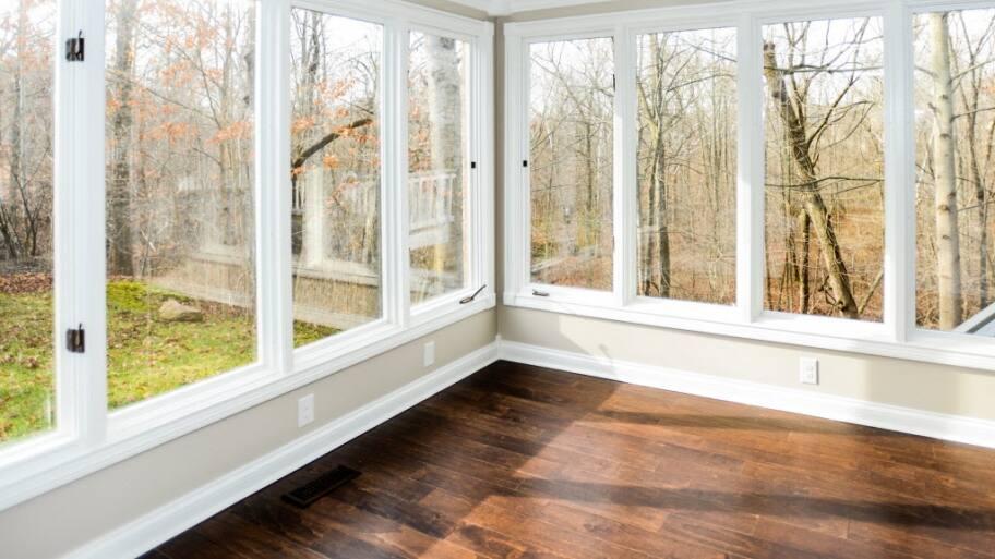 Sunroom, Windows, Wood Floor. Replacement ...
