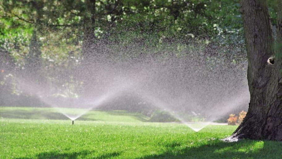 residential lawn sprinklers