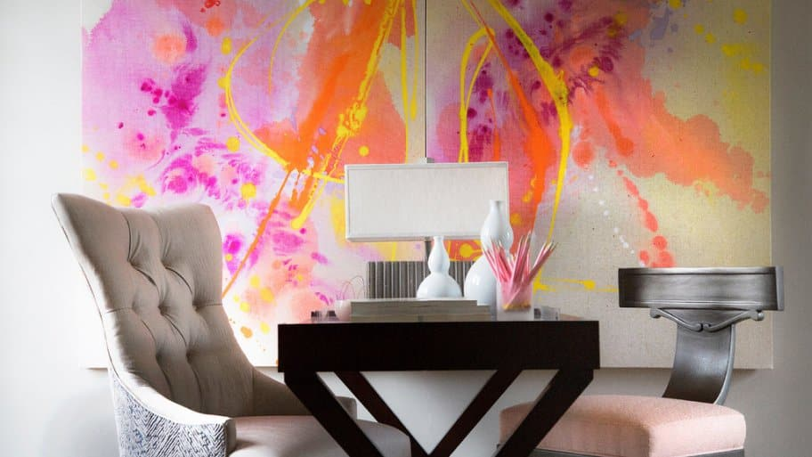 2016 Decorators' Show House bedroom designed by Kittle's Studios.
