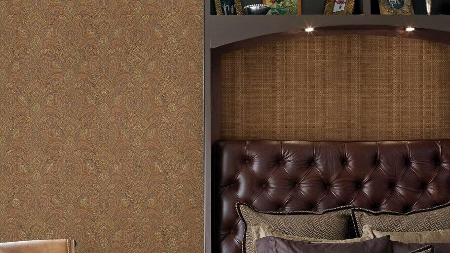 grasscloth wallpaper in bedroom - Wallpaper Removal Solution