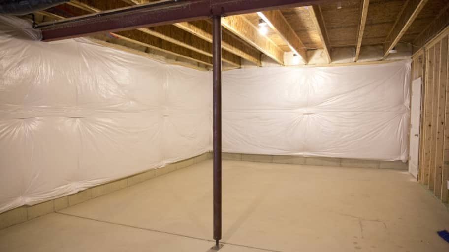 Unfinished basement & Basement Insulation Costs and Options | Angieu0027s List