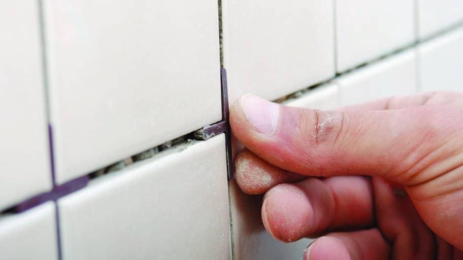 Lovely Bathroom Tile Grout Line Spacer