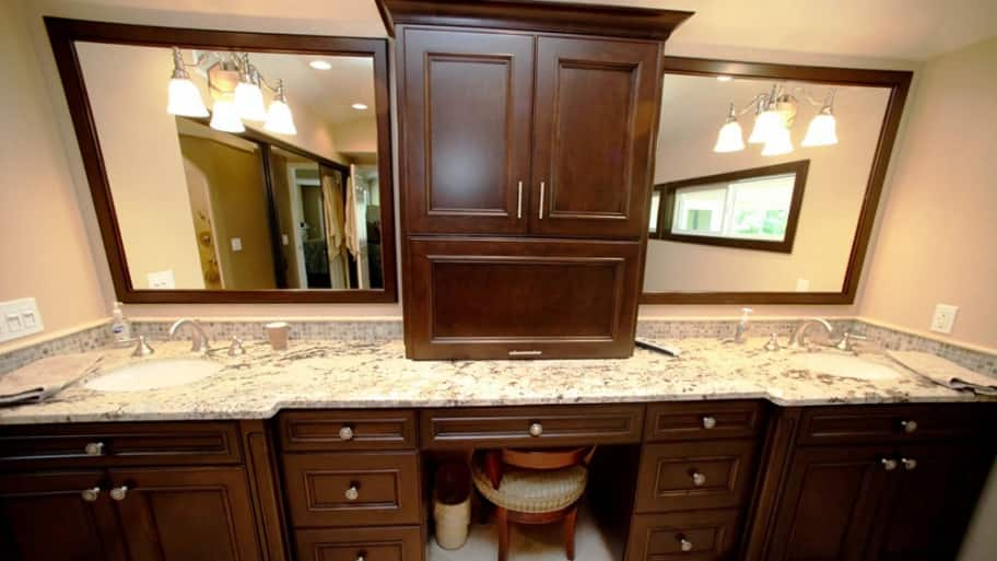 Bathroom Remodel Double Sink bathroom remodel ideas to increase storage space | angie's list