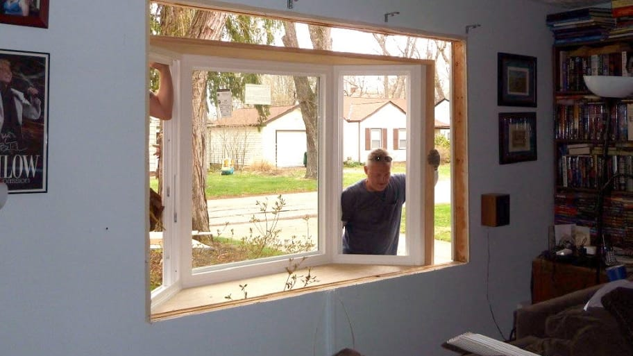 bay window window installation contractor & Who Can Install a Bay Window? | Angie\u0027s List