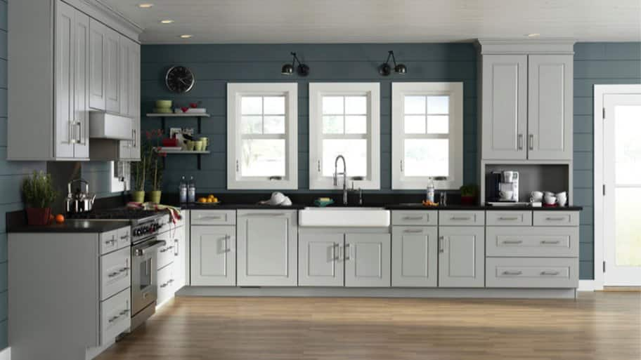 how to choose kitchen cabinet colors angie s list rh angieslist com pictures of dark colored kitchen cabinets pictures of two colored kitchen cabinets