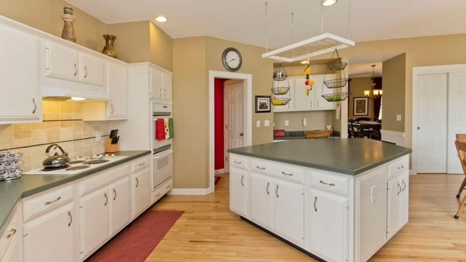 Should I Paint Or Refinish My Kitchen Cabinets Angies List - What paint to use on kitchen cabinets