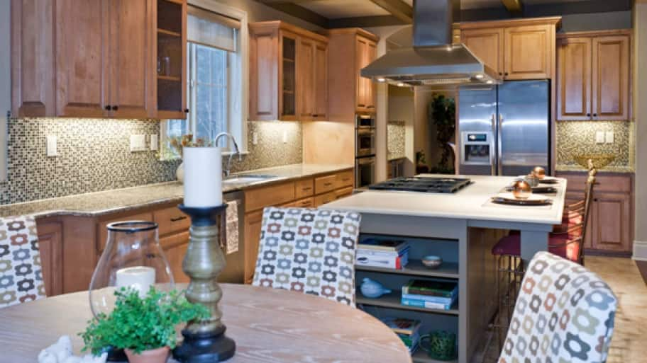 In some cases, replacing your cabinets may be the best option to ensure that you make the most out of our kitchen space, says Todd. (Photo courtesy of Angela Todd Designs)