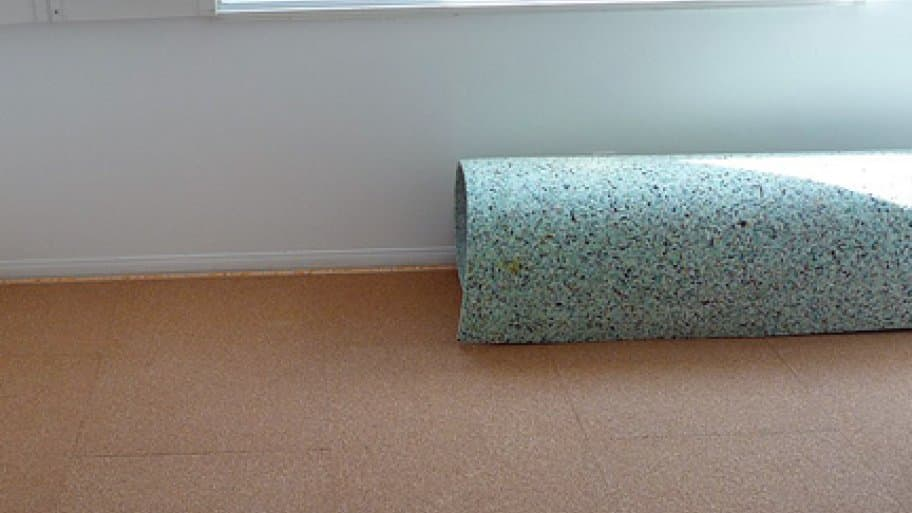 How To Remove Carpet Padding That Is Stuck The Floor