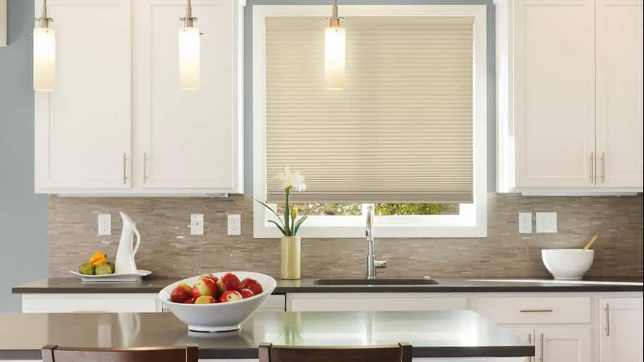 Wonderful Window Treatment Ideas For Small Windows. Cellular Shades Window Treatment