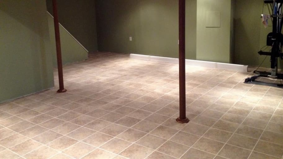 Can You Put Ceramic Tile On Concrete Basement Floor. Ceramic Tile Can Be Easily Applied To A Concrete Slab