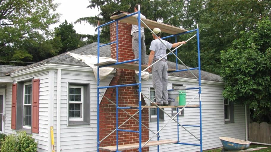 Chimney inspection and repair