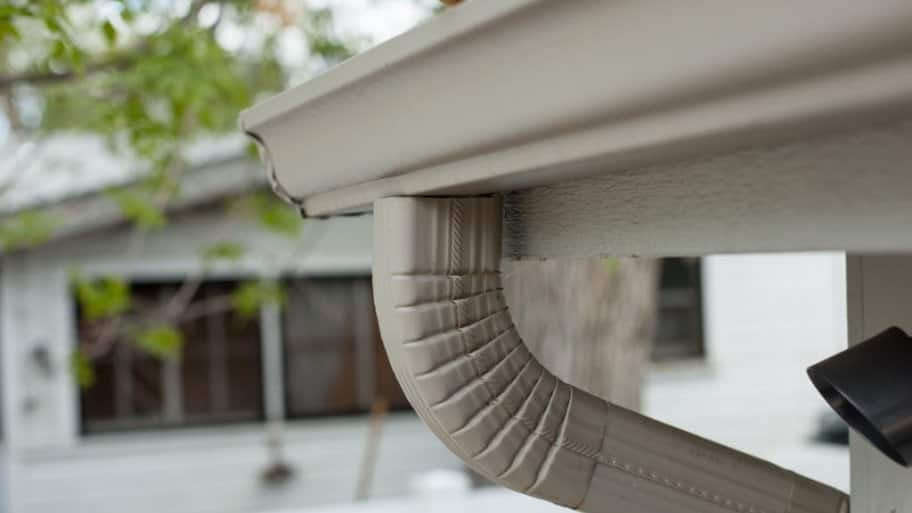 Gutter and downspout