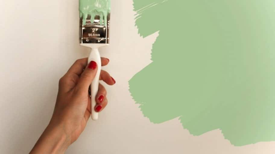 Want to bring more color into the home? Use low VOC paint to limit indoor air pollution. (Photo by Melissa Wagner)