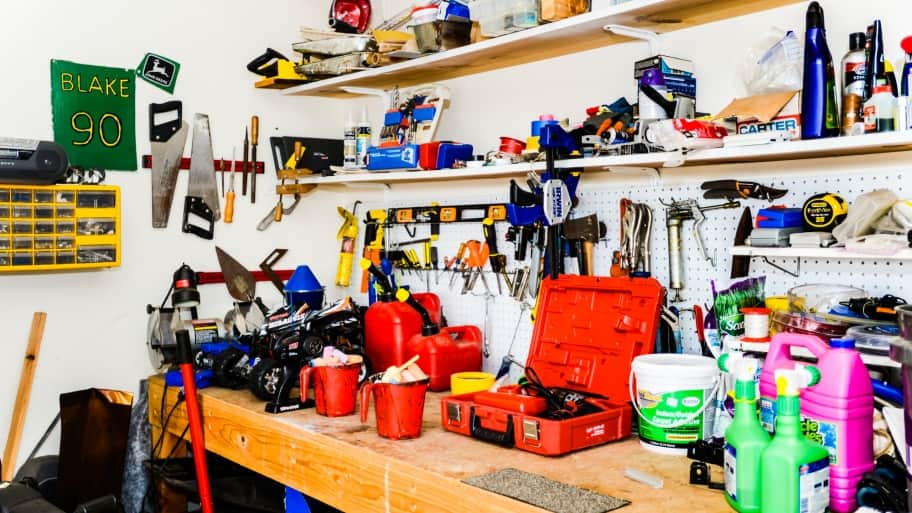 garage workbench units how much do garage storage systems cost angies list