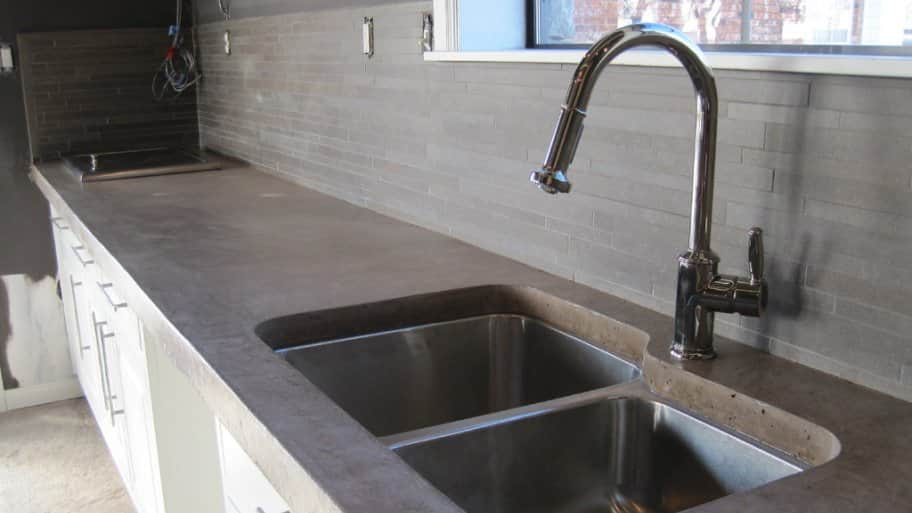 Countertop Replacement Cost : Why buying a concrete countertop, the true cost is in the ...