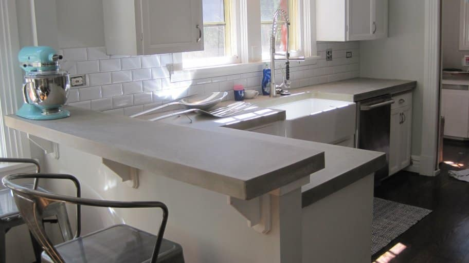 Charmant The Cost Of Concrete Countertops