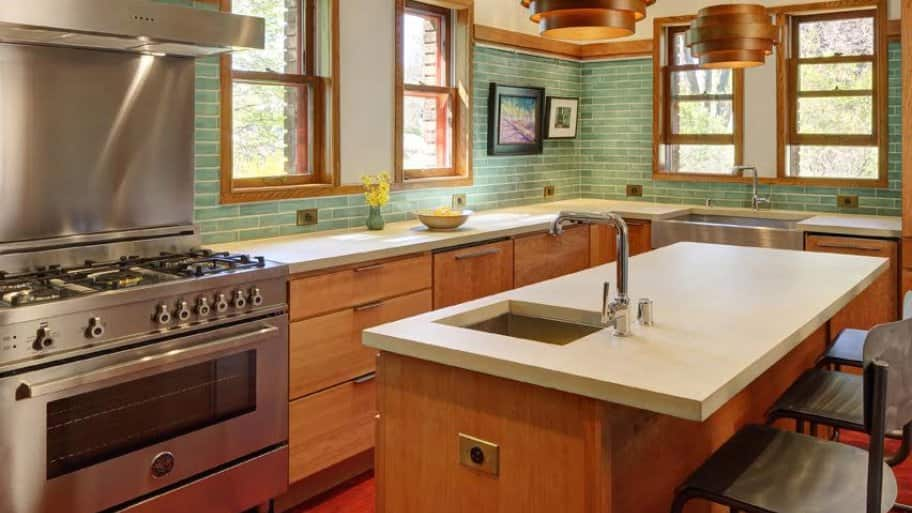 countertops to it in concrete diy cast pic make price white beautiful kitchen how do place