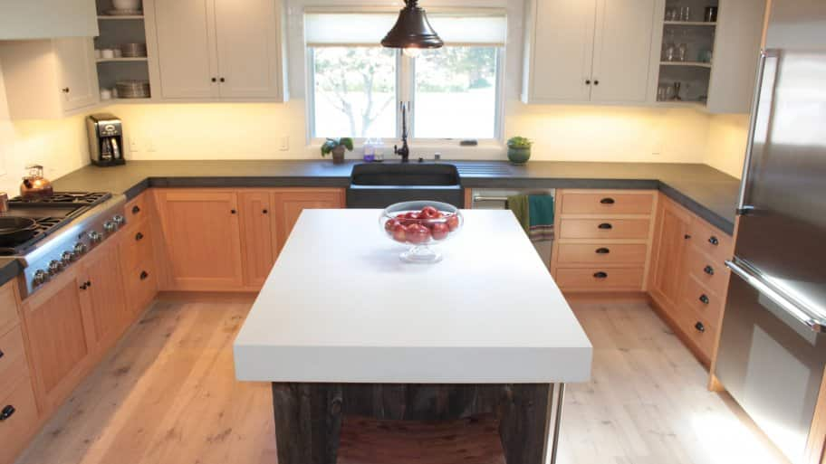 Countertop Cost : How Much Do Concrete Countertops Cost? Angies List