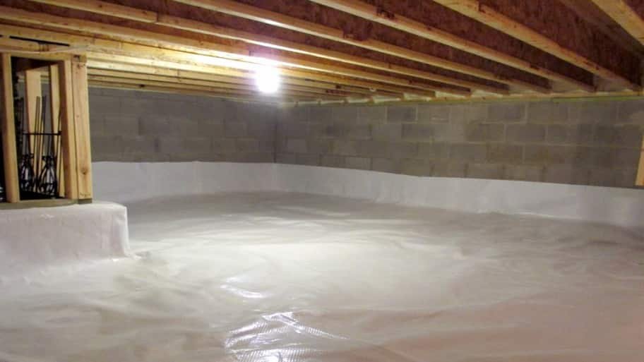 Is It Better To Waterproof A Crawl Space On The Inside Or
