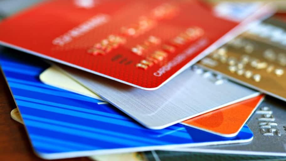 credit cards, wallet, gift cards