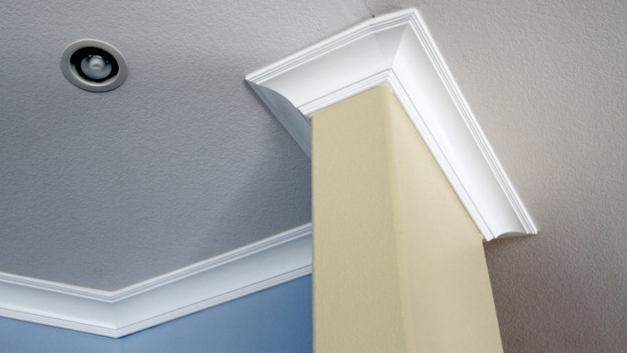 Can Crown Molding Be Installed On