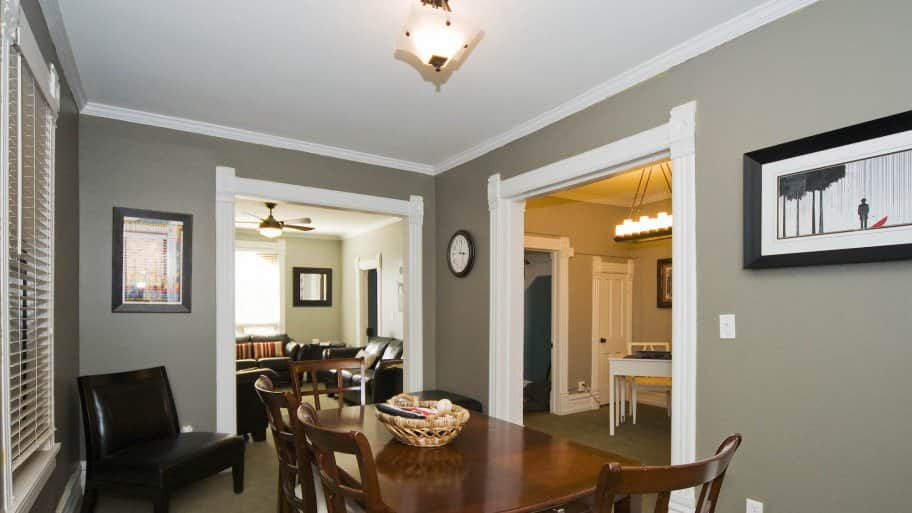 Dining Room Crown Molding And Trim