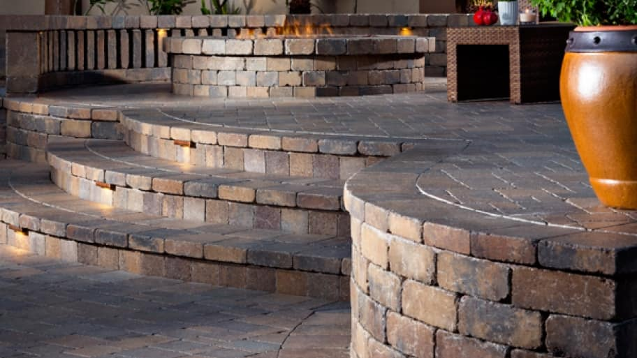 10 Tips For Hiring The Best Contractor To Install Pavers. Patio Made With  Pavers