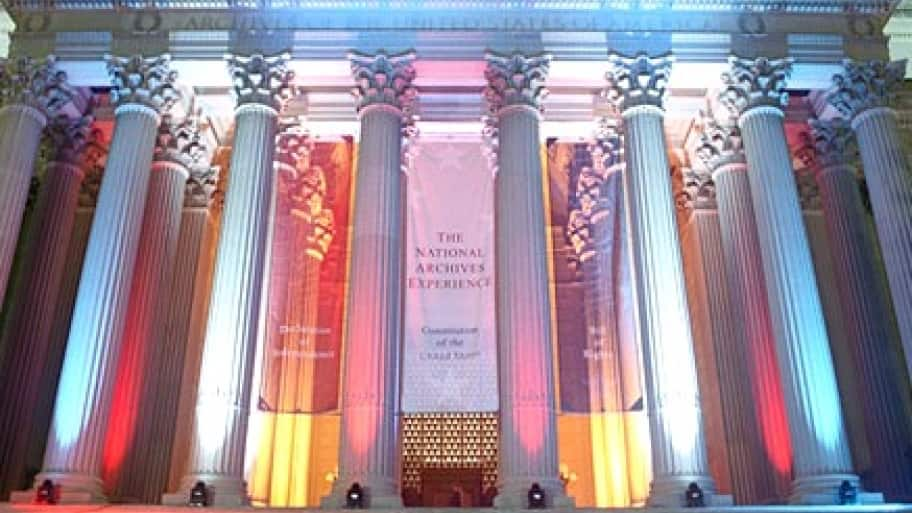 The National Archives is home to the Declaration of Independence and Constitution. (Photo courtesy of the National Archives)