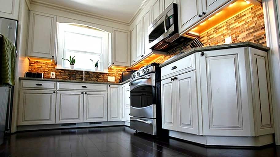 Cabinets can drain your kitchen remodeling budget. Smart choices can save you big bucks. (Photo courtesy of Angie's List member David M.)