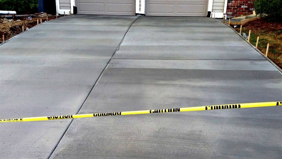 Concrete repair projects that extend into a sidewalk or block pedestrian walkways may require advance notice. (Photo courtesy of Angie's List member Cheryl L.)