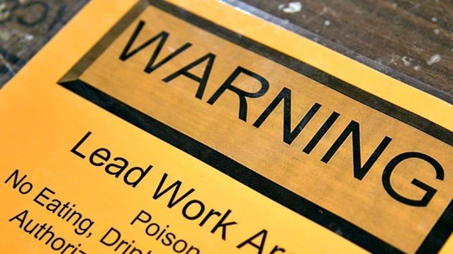 A new law in 2015 means new regulations for apartments regarding lead paint. (Photo by Brandon Smith)