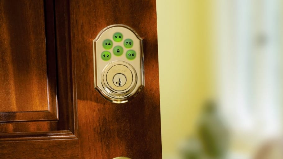 Some Homeowners Are Starting To Install Keyless Deadbolt Locks. (Photo  Courtesy Of Kwikset)