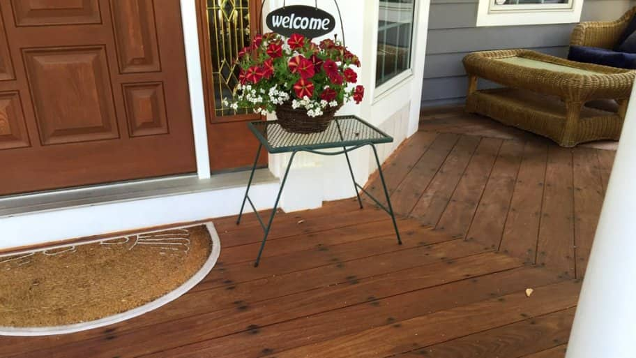 Why A Deck Shouldn T Be Level With The Home