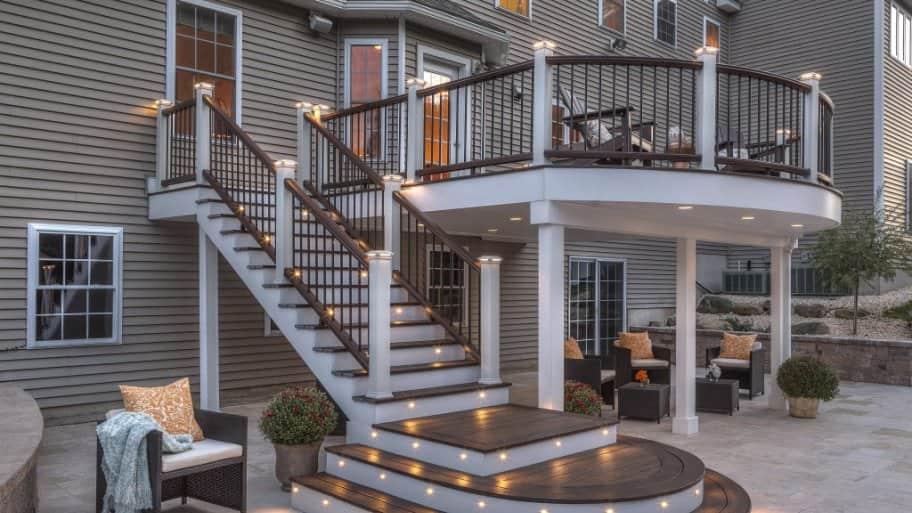 A Deck And Patio