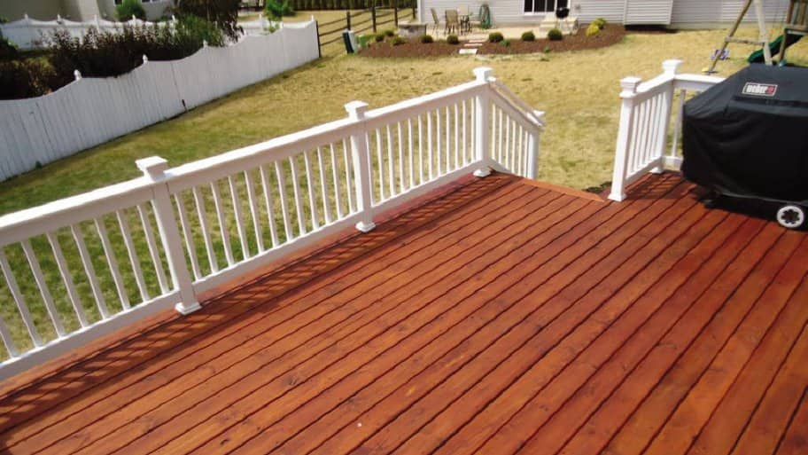 When Is The Best Time To Stain My Wood Deck