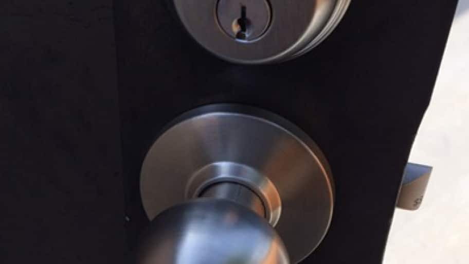 door knob and lock