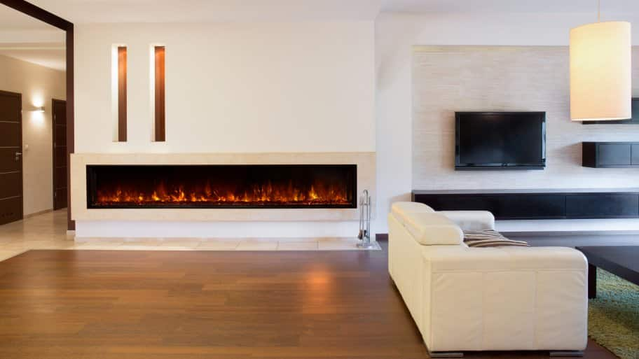 is an electric fireplace worth the money angie s list rh angieslist com contemporary electric fireplace ideas
