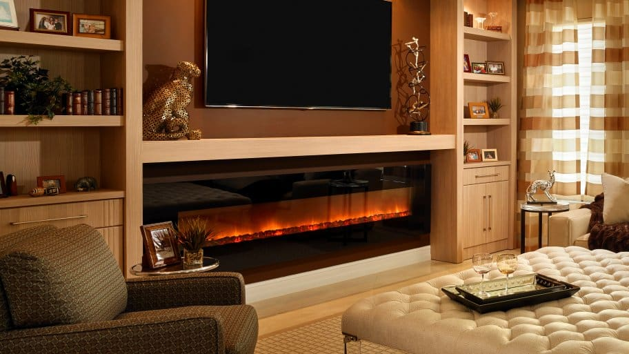 light oak electric fireplace media center built wall mount bookshelves clearance white