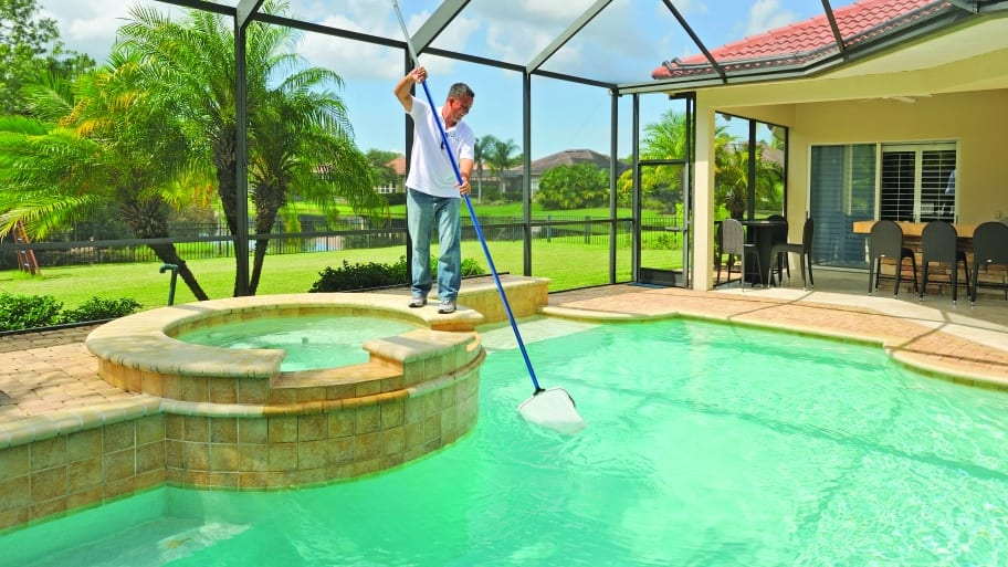 Create Safe Swimming Pool Decks with Pavers | Angie\'s List