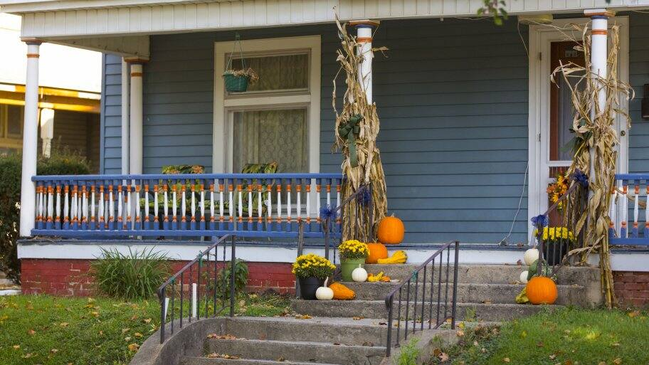 Fall Decorating Ideas For Your Porch, Home Exterior