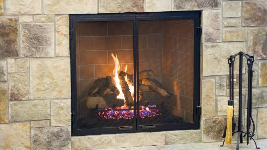 Gas Fireplace Surround Ideas Angies List - Gas fireplace stones